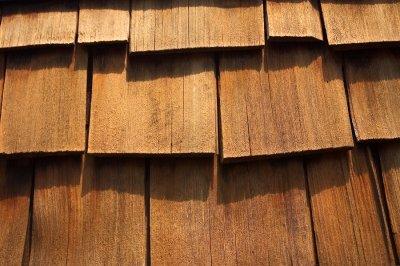 Maintaining cedar roof